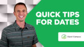 Quick Tips for Dates in Excel