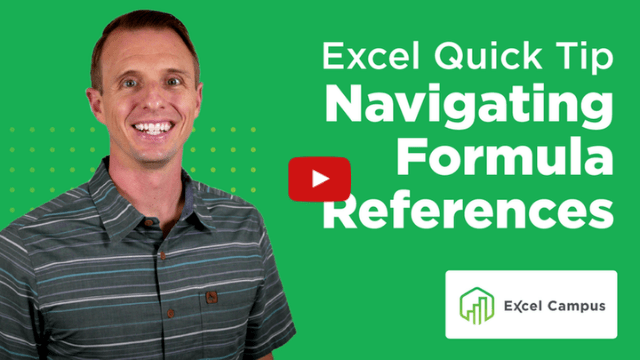 Quick Tip for Navigating Formula References with the Go To Window