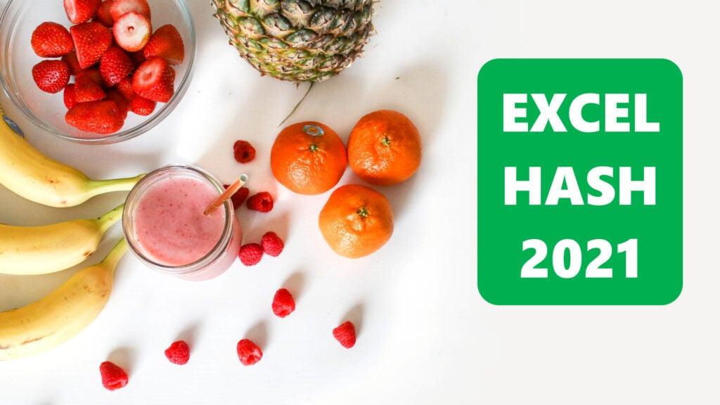 Excel Hash 2021