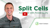 Split Cells with Power Query