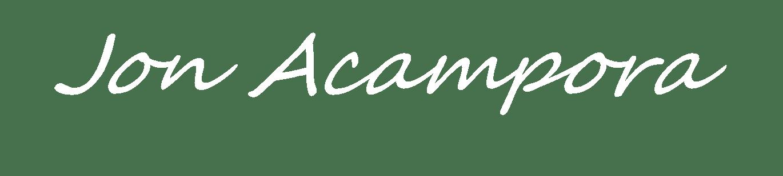 Jon Acampora Signature White 500-3