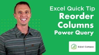 Power Query Quickly Reorder Multiple Columns Post Thumbnail