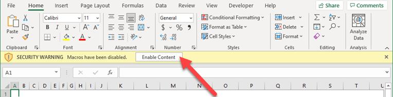 Hero Tools Installer File - Enable Content Macros