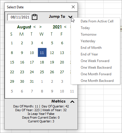 Ultimate Date Picker for Hero Tools Add-in - Excel Campus