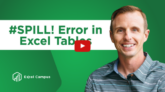 Spill Ranges in Excel Tables